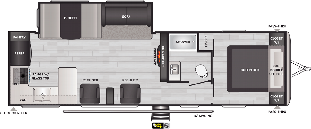 Springdale 293RK Floor Plan - 2021