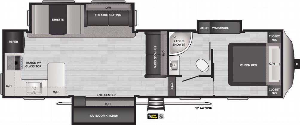 Springdale 302FWRK Floor Plan - 2021