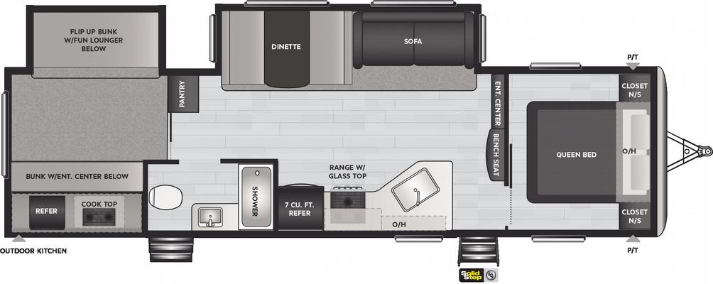 Springdale 303BH Floor Plan - 2021