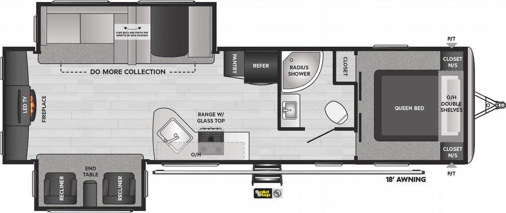Springdale 311RE Floor Plan - 2021
