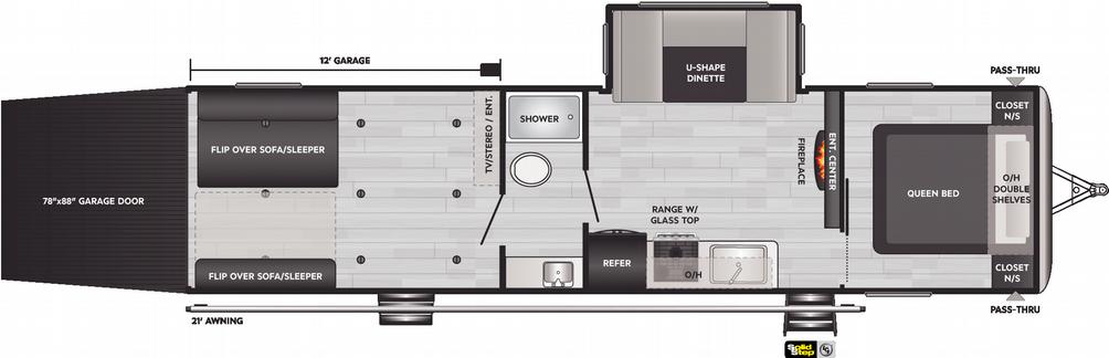 Springdale 32TH Floor Plan - 2021