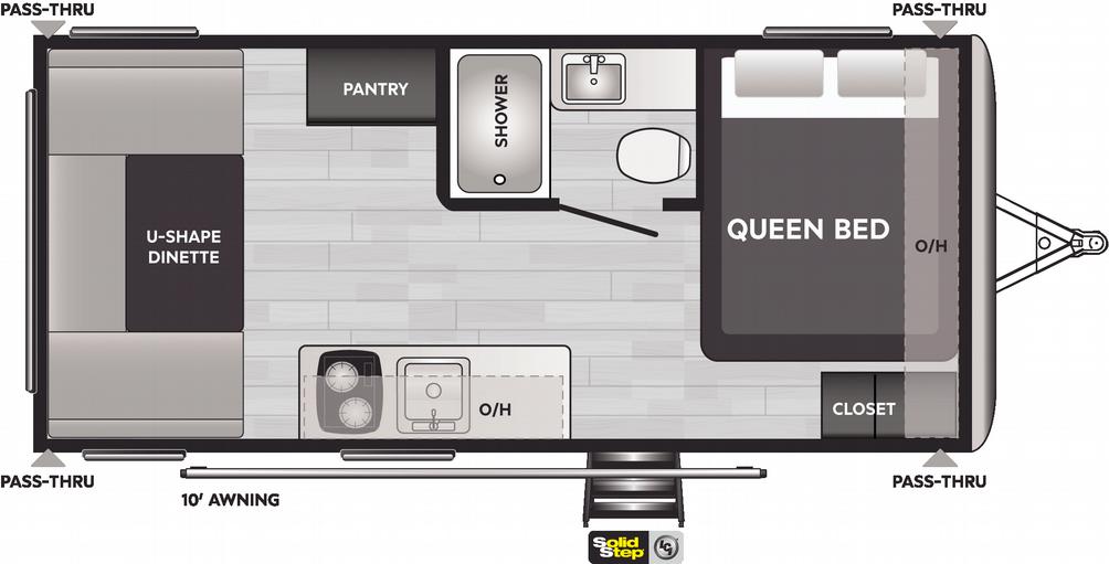 Springdale Mini 1750RD Floor Plan - 2021