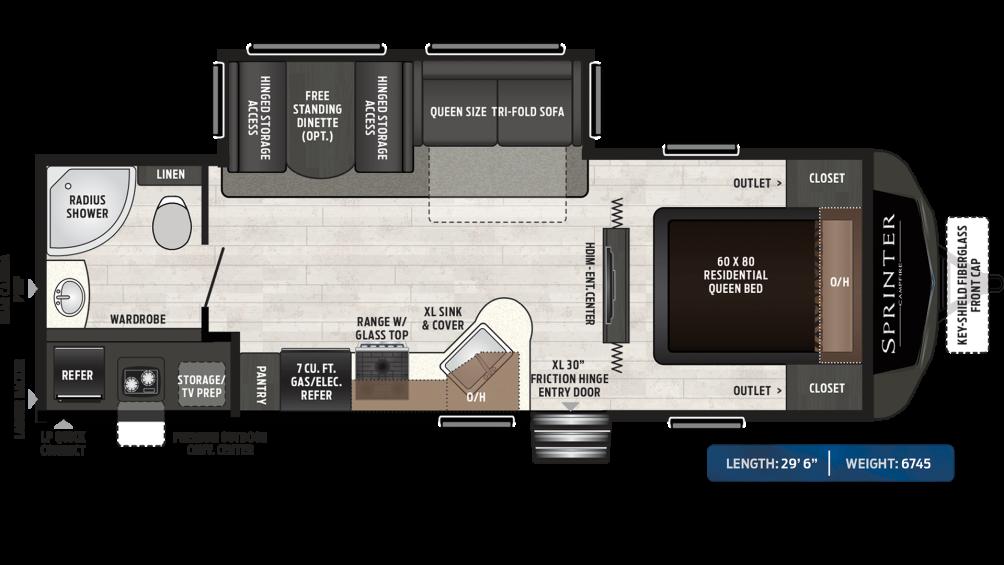sprinter-campfire-edition-26rb-floor-plan-2020