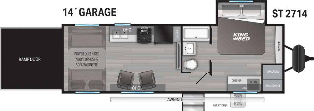 Stryker ST2714 Floor Plan - 2021