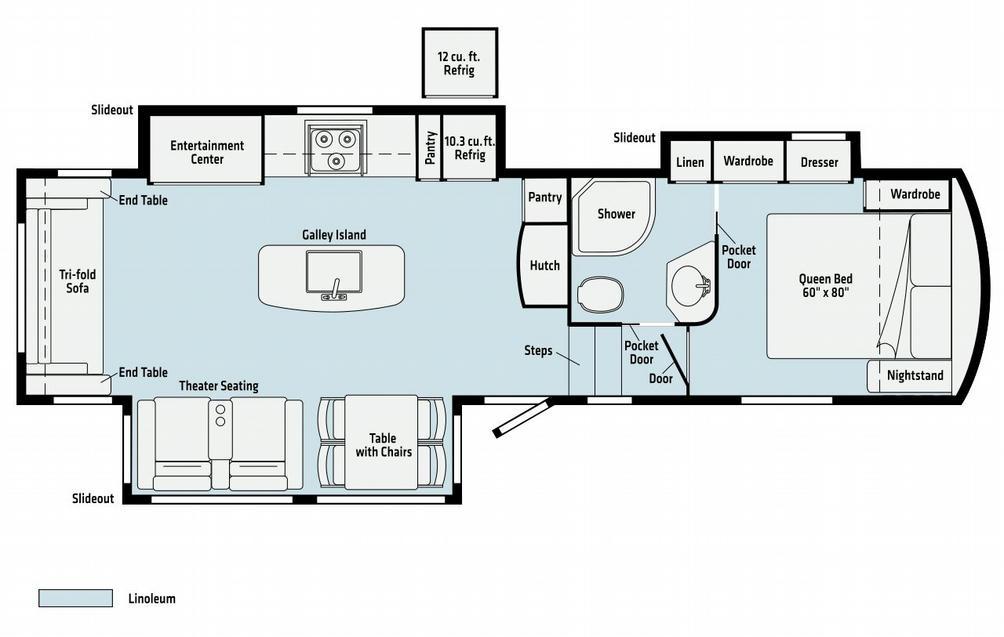 Voyage V2932RL Floor Plan - 2021