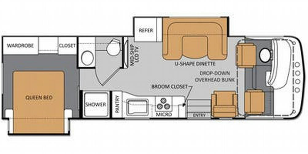 Windsport 29X Floor Plan - 2013