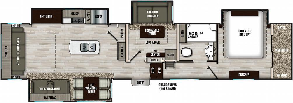 chaparral-lite-393mbx-floor-plan-1986