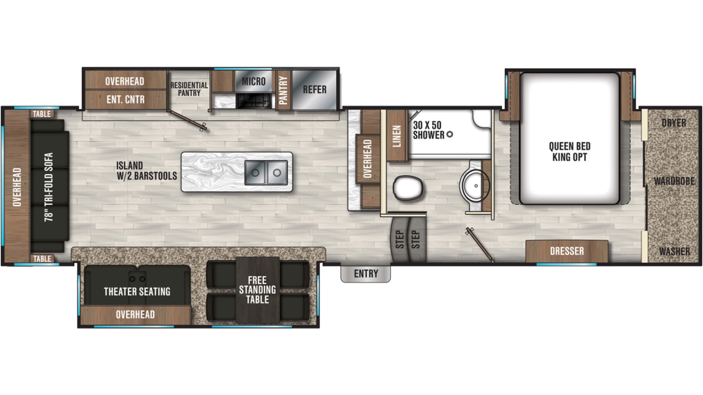 chaparral-336tsik-floor-plan-2020