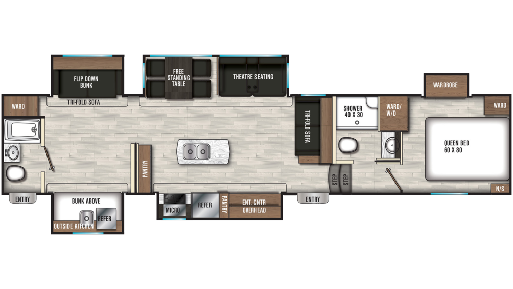 chaparral-367bh-floor-plan-2021