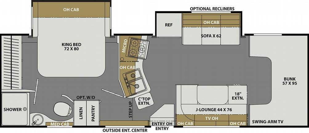 Freelander Premier 29KB Ford Floor Plan - 2021