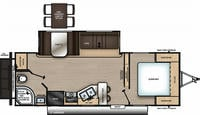 Catalina Legacy Edition 243RBS Floor Plan - 2021