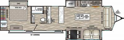 2022 Cedar Creek Cottage 40CBAR - CE2311
