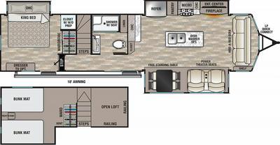 2022 Cedar Creek Cottage 40CDL - CE9759