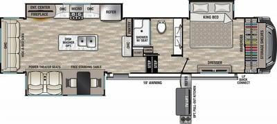 2021 Cedar Creek 345IK - CE7234
