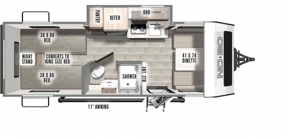 No Boundaries 16.2 Floor Plan - 2021