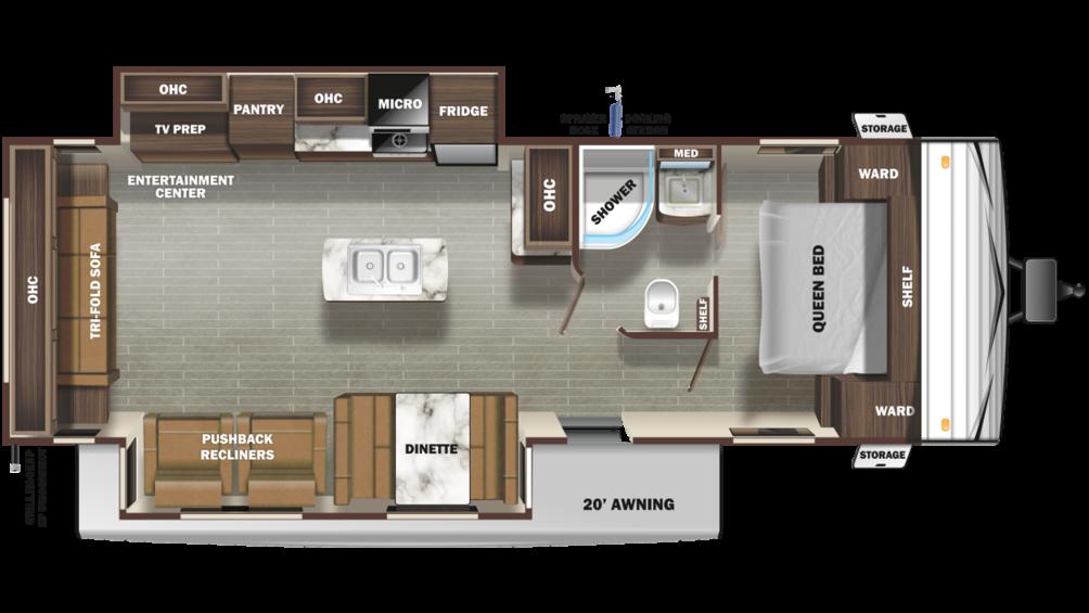 autumn-ridge-outfitter-27rli-floor-plan-2020