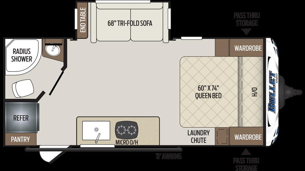 bullet-crossfire-1850rb-floor-plan-2020