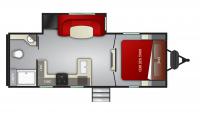 2020 Cruiser MPG 2200RB Floor Plan
