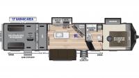 2020 Fuzion 357 Floor Plan