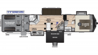 2020 Fuzion 424 Floor Plan