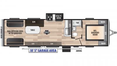 Impact 3118 Floor Plan - 2020