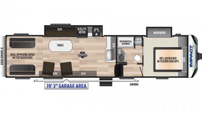 Impact 3219 Floor Plan - 2020