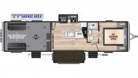 2020 Impact 330 Floor Plan