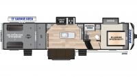 2020 Impact 343 Floor Plan