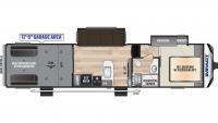 2020 Impact 351 Floor Plan