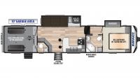 2020 Impact 359 Floor Plan
