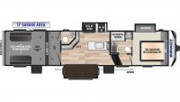 2020 Impact 367 Floor Plan