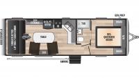 2020 Impact Vapor Lite 26V Floor Plan