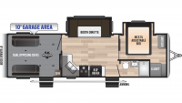 2020 Impact Vapor Lite 29V Floor Plan