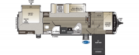2020 Outback 324CG Floor Plan