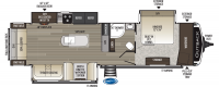 2020 Outback 328RL Floor Plan