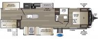 2020 Outback 340BH Floor Plan