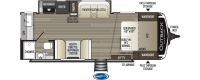 2020 Outback Ultra Lite 221UMD Floor Plan