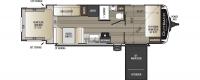 2020 Outback Ultra Lite 240URS Floor Plan