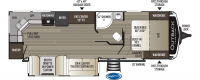 2020 Outback Ultra Lite 260UML Floor Plan