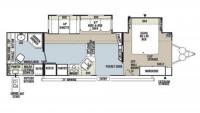 2013 Flagstaff Classic Super Lite 829RKBS Floor Plan