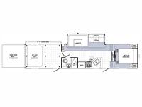 2014 Puma Unleashed 351THSS Floor Plan