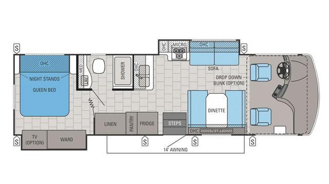 2016 Alante 31L Floor Plan