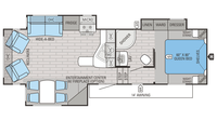 2016 Eagle HT 27.5RLTS Floor Plan