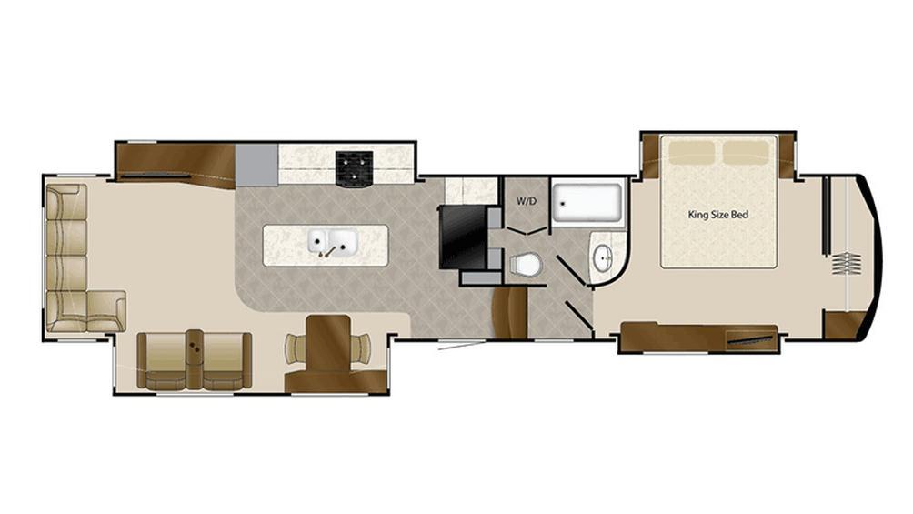 2016 Mobile Suites 44 LAFAYETTE Floor Plan