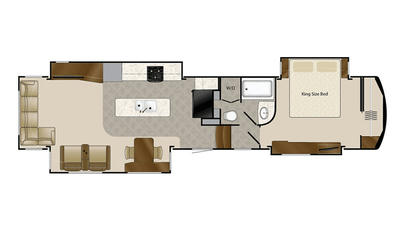 2016 Mobile Suites 44 LAFAYETTE Floor Plan