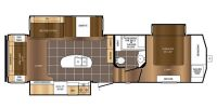 2016 Crusader 315RST Floor Plan