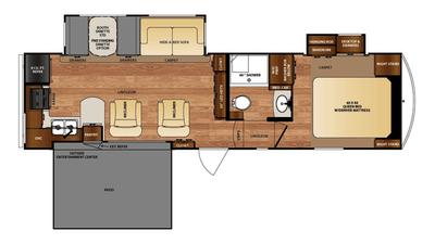 2016 Wildcat 29RKP Floor Plan
