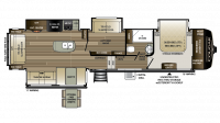 2018 Cougar 368MBI Floor Plan