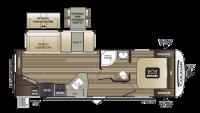 2018 Cougar Half Ton 27RES Floor Plan