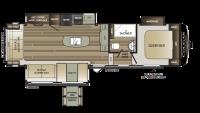 2018 Cougar Half Ton 30RLS Floor Plan